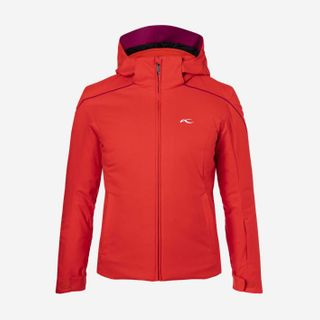 KJUS FORMULA KIDS JACKET FIERY RED