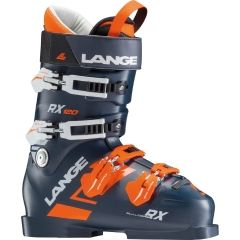 LANGE RX120 SKI BOOT NAVY/ORANGE 27.5