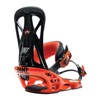 ROME UNITED SNOWBOARD BINDING HAZARD ORANGE L