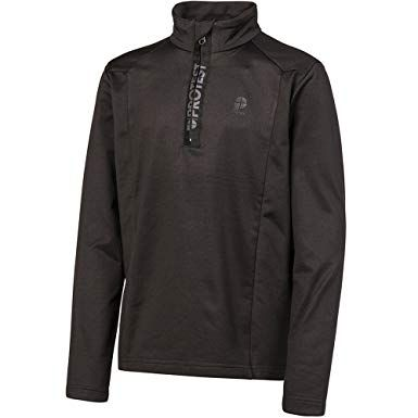 PROTEST WILLOWY MENS SKIVVY TRUE BLACK L