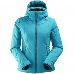 EIDER RIDGE WOMENS JACKET BLUE MORPHO L