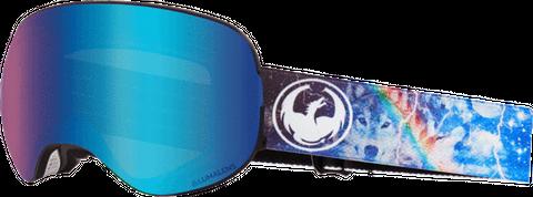 DRAGON X2 GALAXY LL BLUE IONISED/LL AMBE