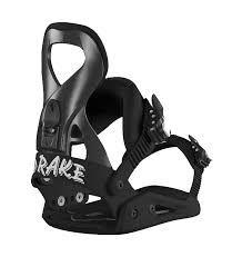 DRAKE 19 QUEEN SNOWBOARD BINDING BLACK M