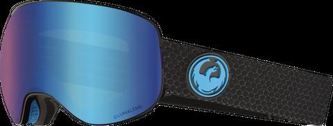 DRAGON X2 SPLIT LL BLUE IONISED/LL AMBER