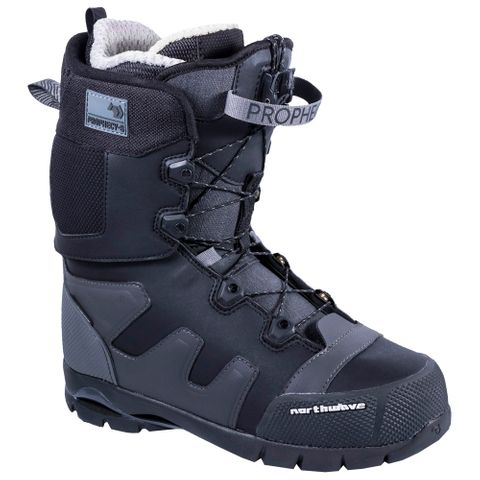 NORTHWAVE 19 PROPHECY MENS SNOWBOARD BOOT BLACK 26.5