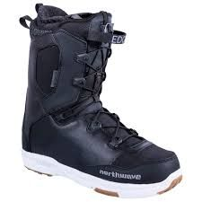 NORTHWAVE 19 EDGE MENS SNOWBOARD BOOT BLACK 25.5