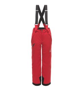SPYDER PROPULSION BOYS PANTS - RED/BLACK - SIZE 10