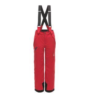 SPYDER PROPULSION BOYS PANTS - RED/BLACK - SIZE 12