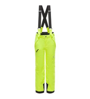 SPYDER PROPULSION BOYS PANTS - BRYTE YELLOW/BLACK - SIZE 10