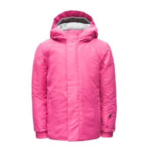 SPYDER BITSY CHARM GIRLS JACKET - TAFFY PINK - SIZE 4