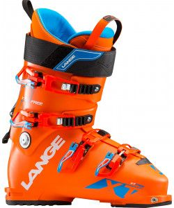 LANGE XT 110 FREE MENS SKI BOOT - FLASHY ORANGE 27.5