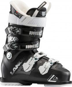 LANGE RX80 WOMENS SKI BOOT LV (19) - BLACK 26.5