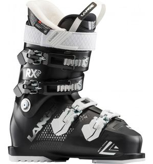 LANGE RX80 WOMENS SKI BOOT (19) - BLACK 24.5