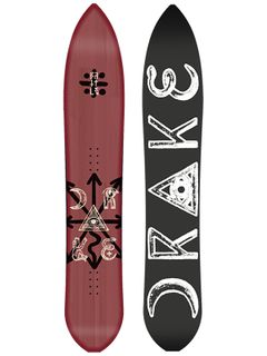 DRAKE BATTLE 2016 MENS SNOWBOARD - 163