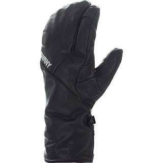 SWANY ADULTS HAWK UNDER 3 FRINGER MITTEN, BLACK