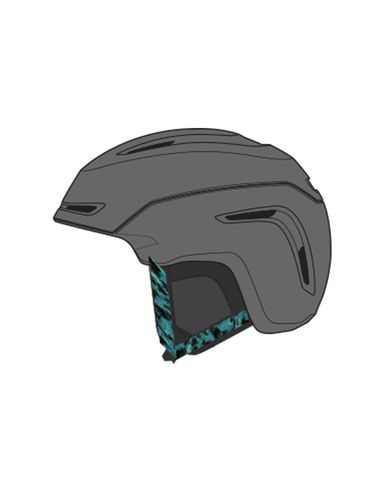 GIRO LADIES HELMET AVERA, MIPS,  GRAPHITE, S