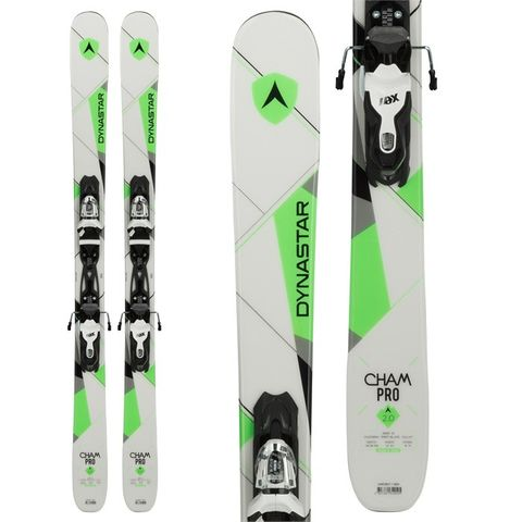 DYNASTAR CHAM PRO 2.0 YOUTH SKIS WITH BINDINGS - 150cm