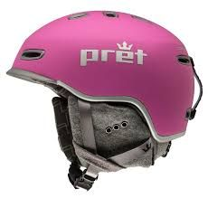 PRET LYRIC WOMENS HELMET - ROSE VIOLET