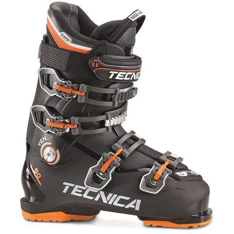 TECNICA TEN.2 90 HV MENS SKI BOOTS - BLACK - SIZE 25.5
