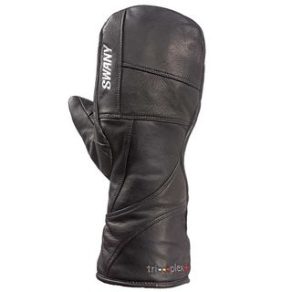 SWANY BLACKHAWK WOMENS MITTENS - BLACK