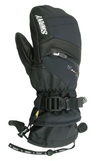 SWANY X-CHANGE WOMENS MITTENS - BLACK