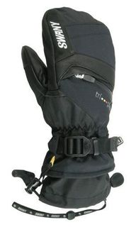 SWANY MENS MITTEN X-CHANGE, BLACK