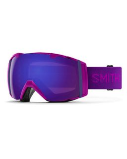 SMITH I/O ADULTS GOGGLES - FUCHSIA WITH CHROMAPOP EVERYDAY VIOLET MIRROR AND CHROMAPOP STORM ROSE FLASH LENS