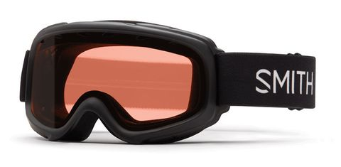 SMITH GAMBLER KIDS GOGGLES - BLACK WITH RC36 LENS