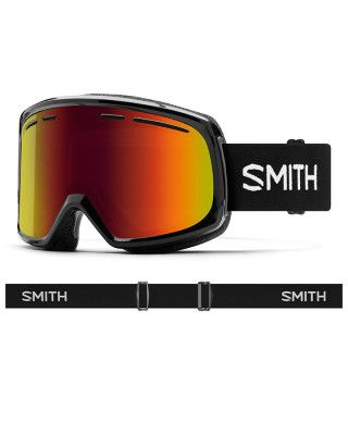 SMITH RANGE ADULTS GOGGLES  - BLACK RED  SOL-X MIRROR