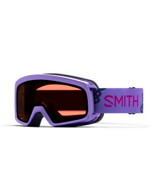 SMITH RASCAL KIDS GOGGLES - PURPLE PEACOCKS WITH  RC36 LENS