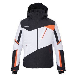 PHENIX PRISM MENS JACKET - WHITE