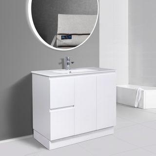 Pavia Standard Gloss White Vanities
