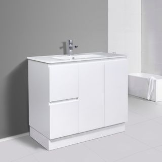 Pavia Standard Gloss White Vanities