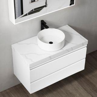 Dover Gloss White All drawer