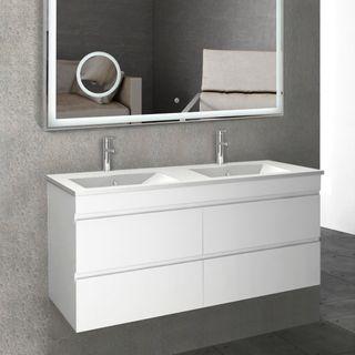 Pavia PVC Gloss White Vanities