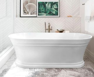 White Free Standing Baths