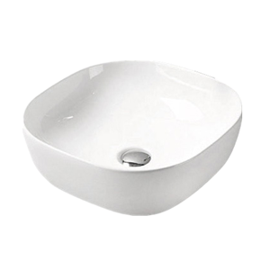 Basin Square 410x410x150 White