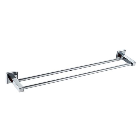 Builder Double Towel Bar 750