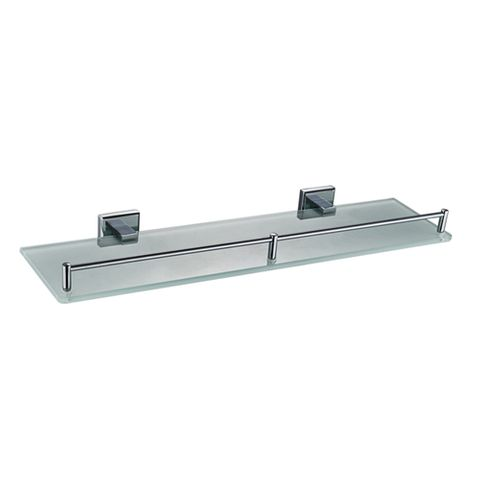 Builder Frosted Glass Shelf
