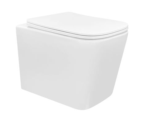 X-Cube Box RimToilet Pan