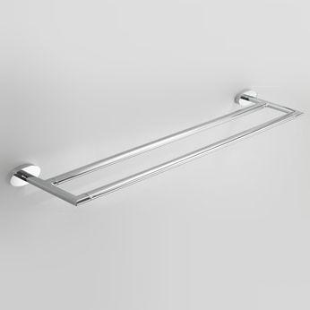 Icon Double Towel Rail 600