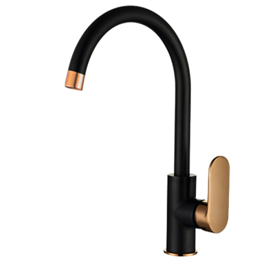 Vetto Kitchen Mixer Rose Gold