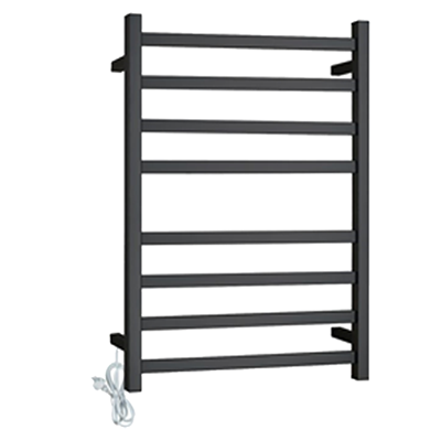 Heat Towel Rail 8 Bars Sq R B