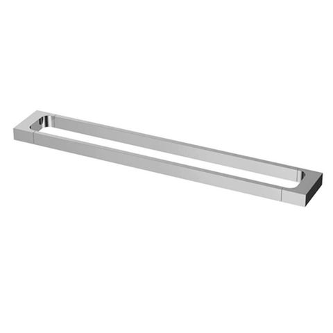 Taran Single TowelRail 600 Ch