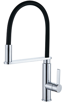 Pull Out Sink Mixer Matt Blk