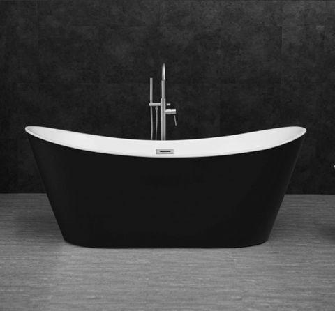 Viva HighBack Bathtub 1700 Blk