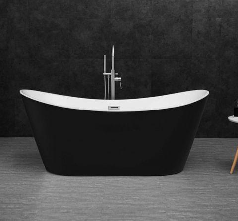 Viva HighBack Bathtub 1500 Blk