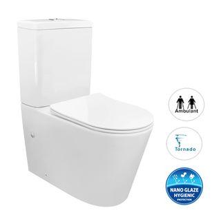 Feanza Toilet Suite Slim Seat