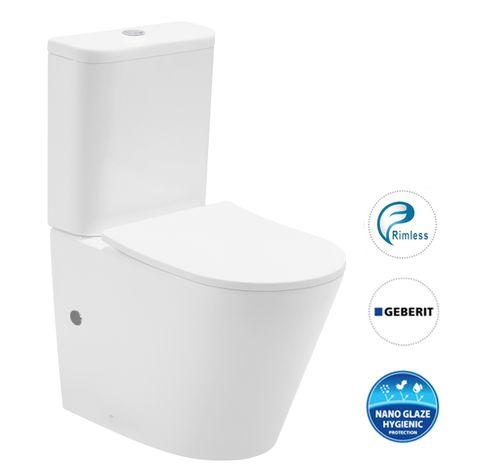 Oasis Rimless Toilet Suite