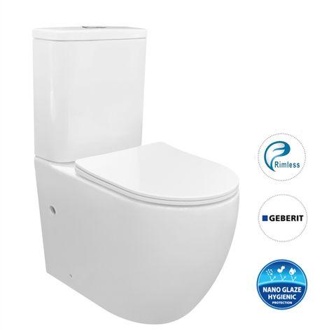 Cosenza Rimless Toilet Suite